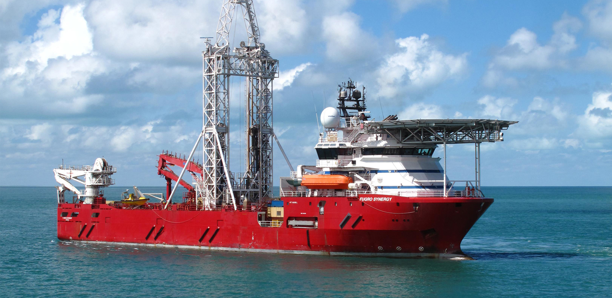 Fugro Synergy vessel