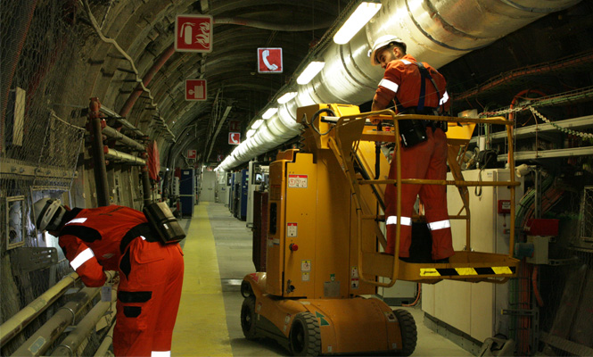 Engineers assessing safe site for nuclear repository