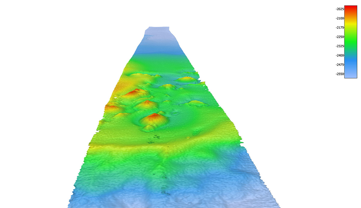 in-transit crowdsourced bathymetry collected by Fugro for Seabed 2030