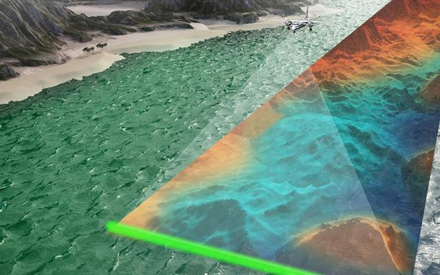 RAMMS offers enhanced lidar bathymetry depth penetration and higher point densities, while also improving project timelines and cost-effectiveness