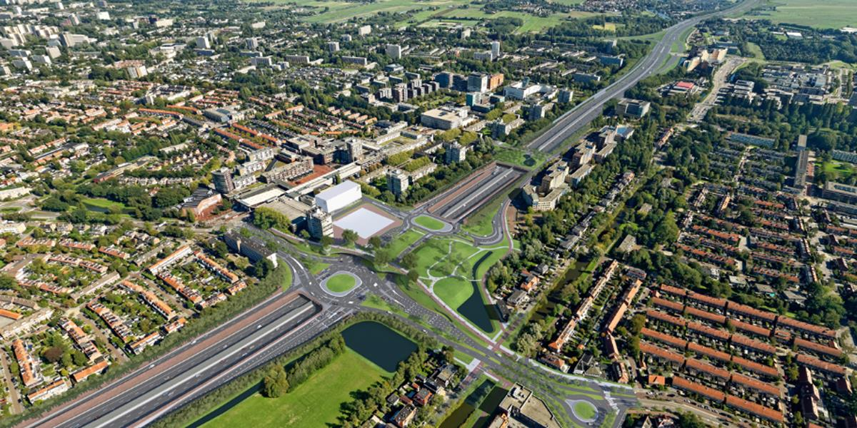 A9 motorway widening in the Netherlands