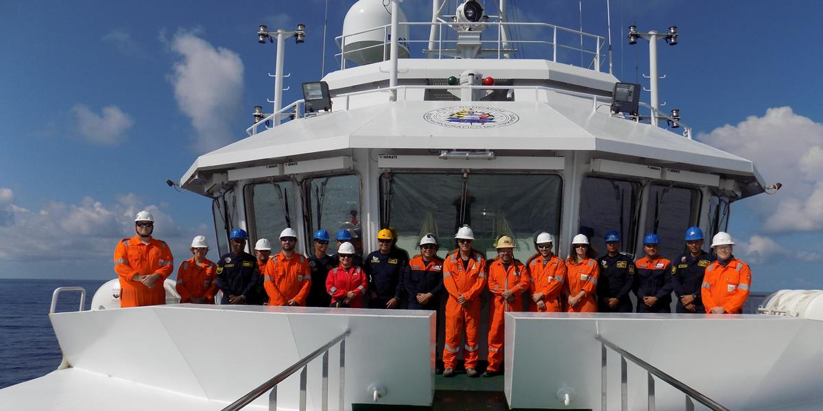 Colombian Maritime Authority seep hunting - DIMAR