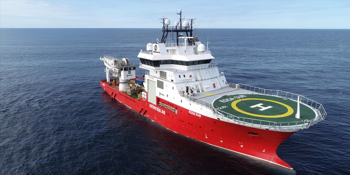 Edda Sun survey vessel