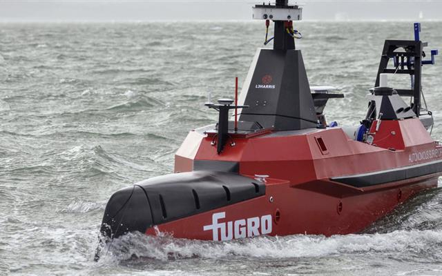 Fugro's uncrewed surface vessel