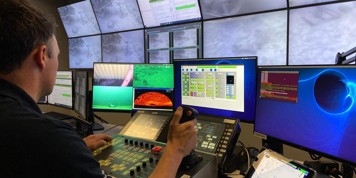 Fugro remote operations centre