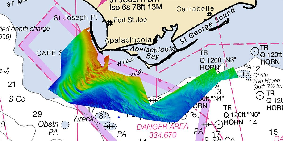 Hydrographic survey for NOAA