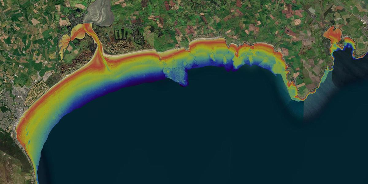 Satellite-derived bathymetry data