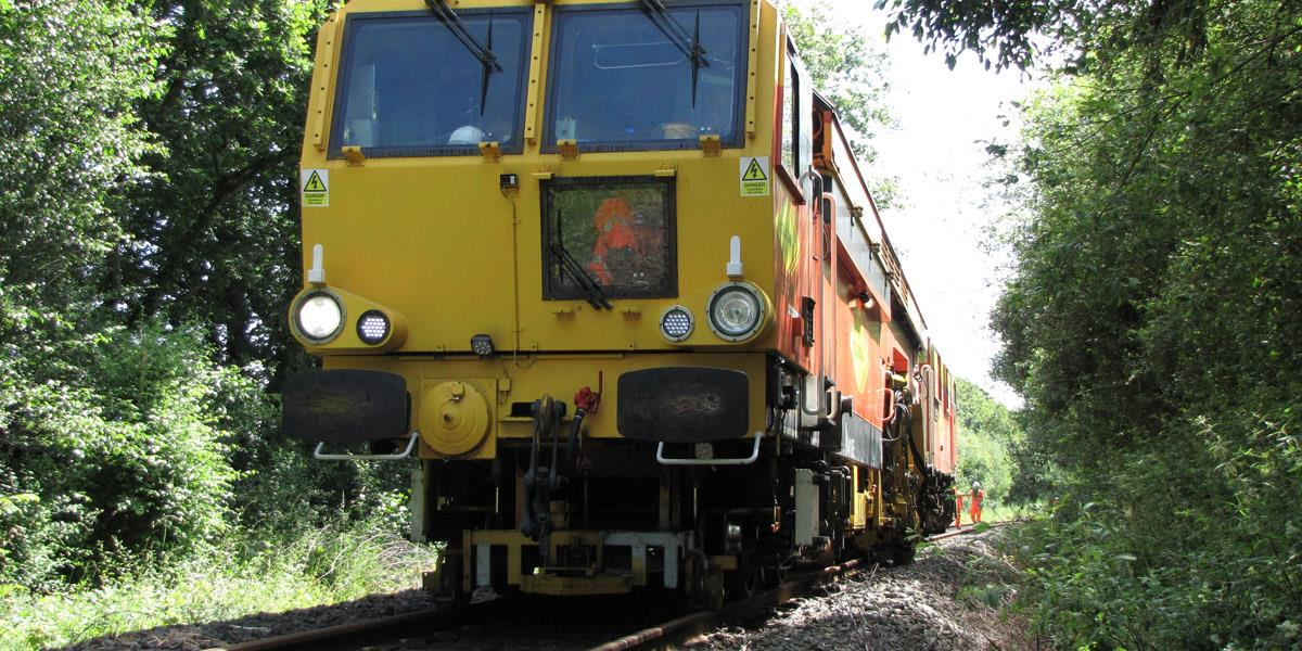 Tamping operations in the UK