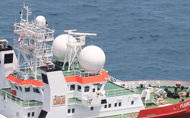 Communication Systems detail Fugro Equator