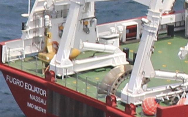 Deck Equipment Fugro Equator