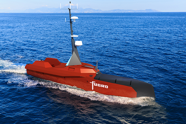 The first USV, designed for medium- to large-scale hydrographic survey applications, is scheduled for delivery in Q2 2019